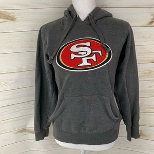 San Fransisco 49ers Gray Pullover Hoodie